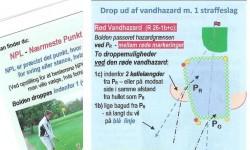 Golf-Reglen's Miniguide til dropperegler